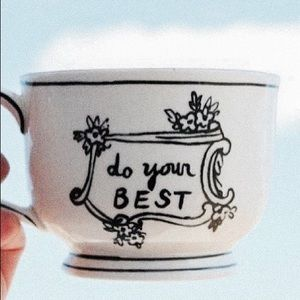 Molly Hatch Crowned Leaf Mug <Do Your Best>